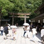 Meiji shrine temple