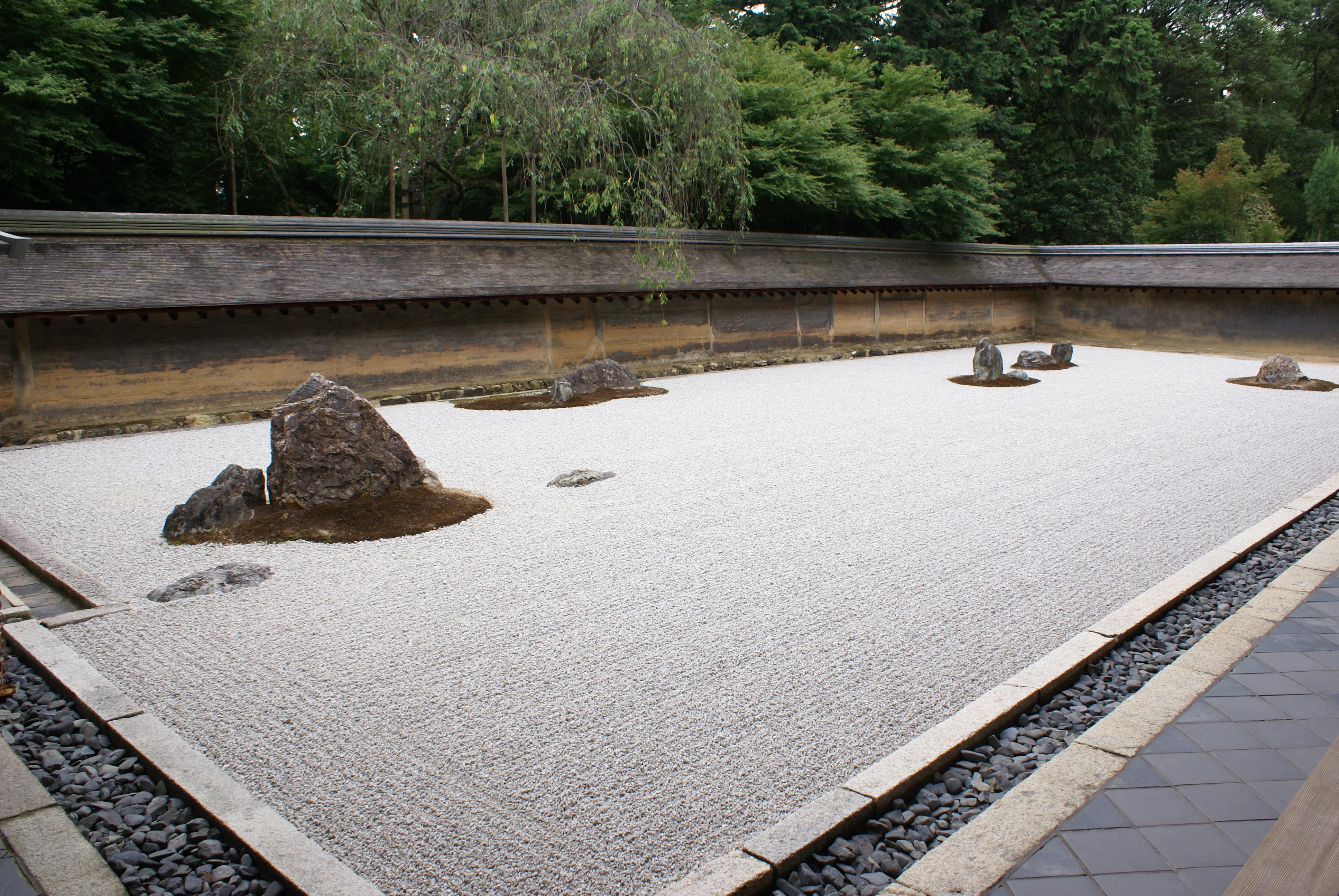 Ryokan-ji temple garden