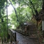 Pathways behind Kyoto temples