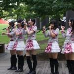 Girl band at Japan Idol festival at Odaiba
