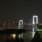 Rainbow bridge from Odaiba
