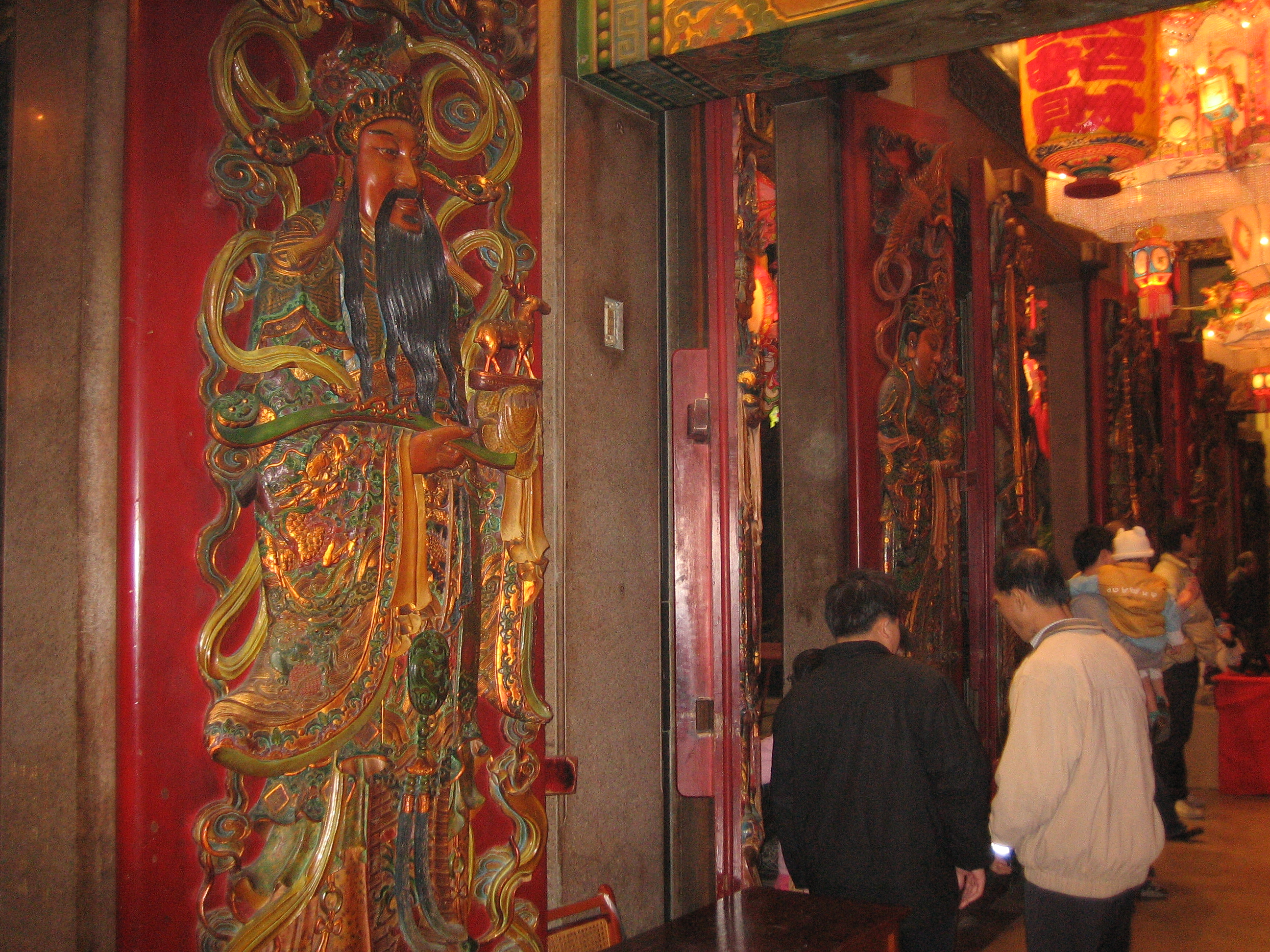 In old Dajia temple