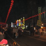 New year lanterns in Dajia