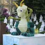 Dragon in Fo Guang Shan