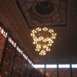 In the main temple of Fo Guang Shan