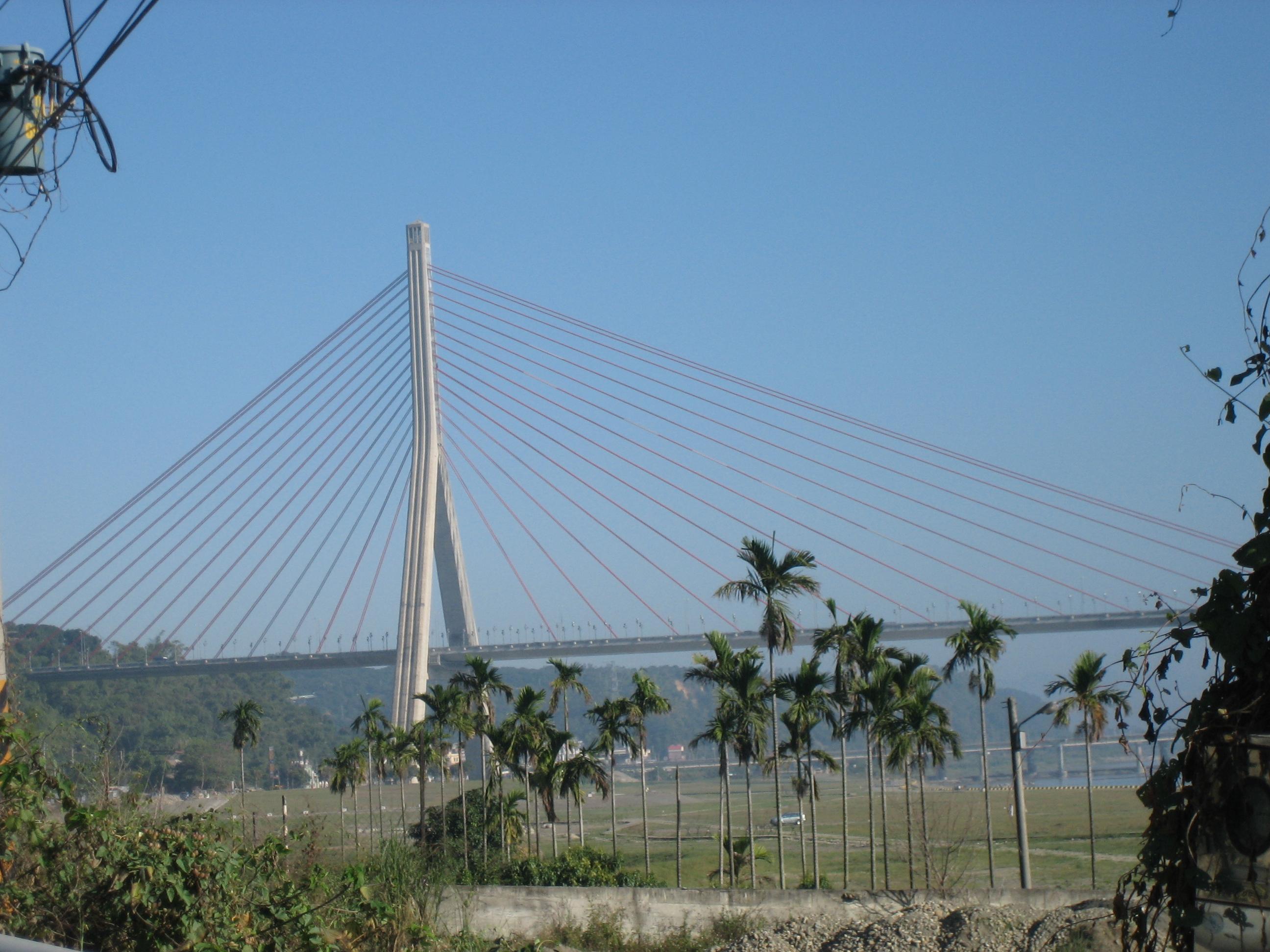 Modern bridge near Kaohsiung