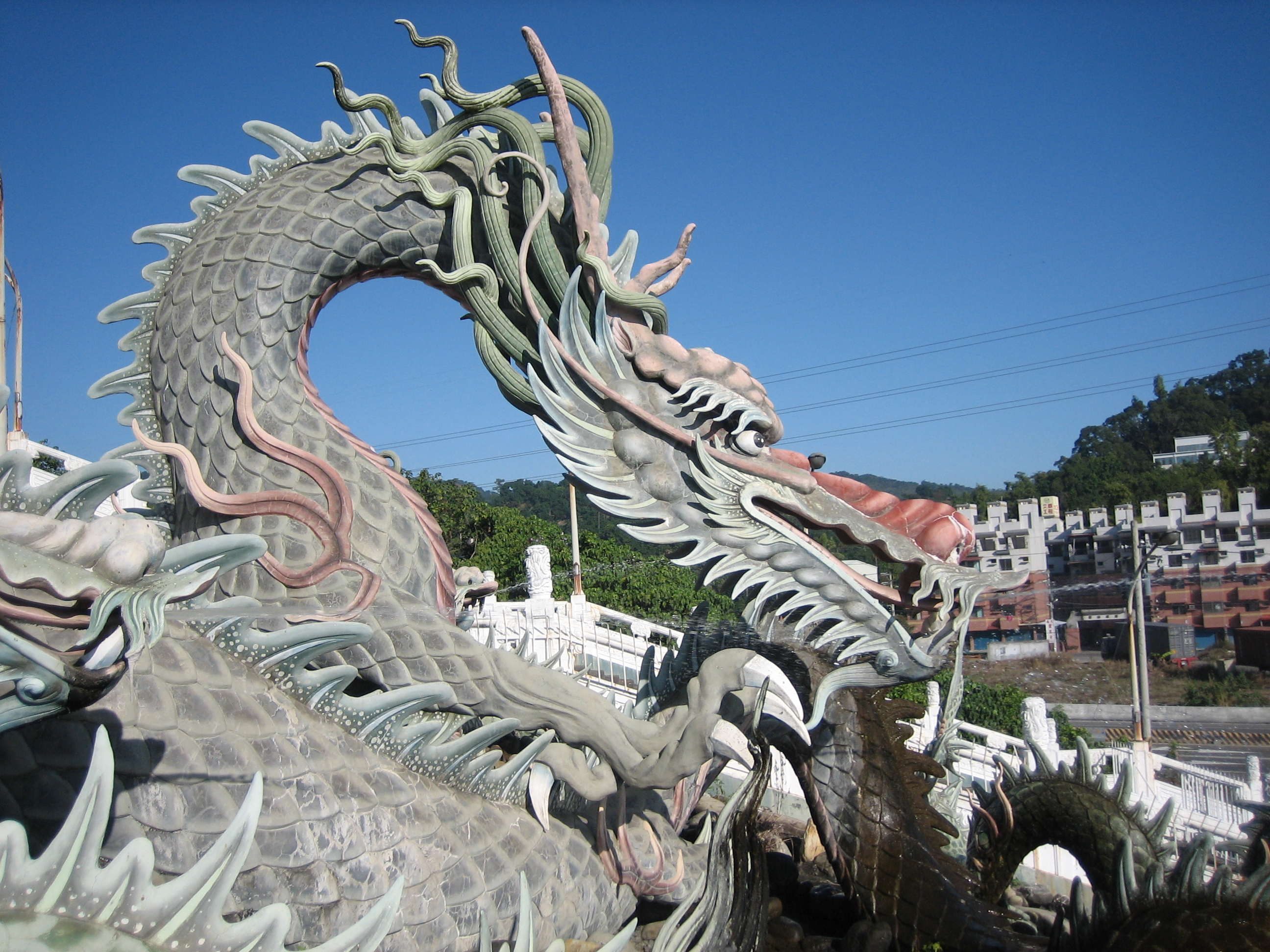 Dragon near Kaohsiung