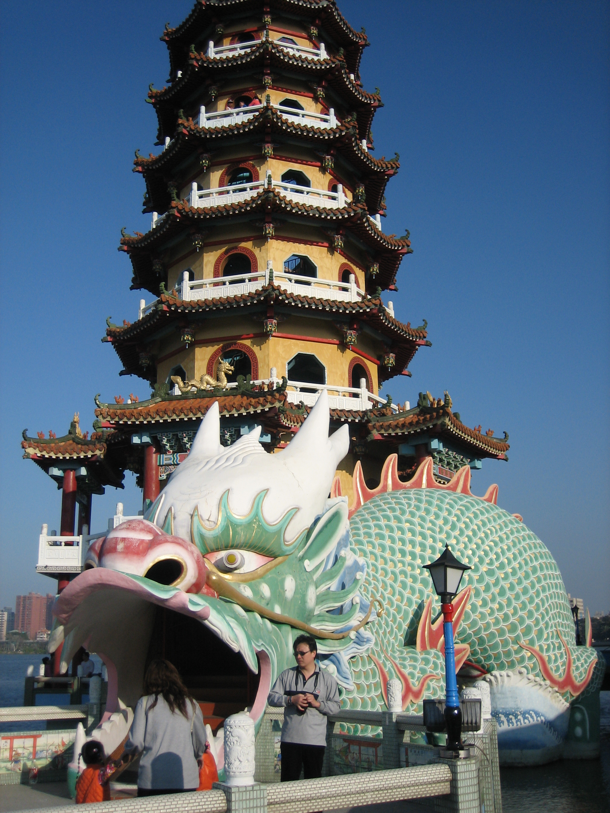 Dragon tower in Kaohsiung