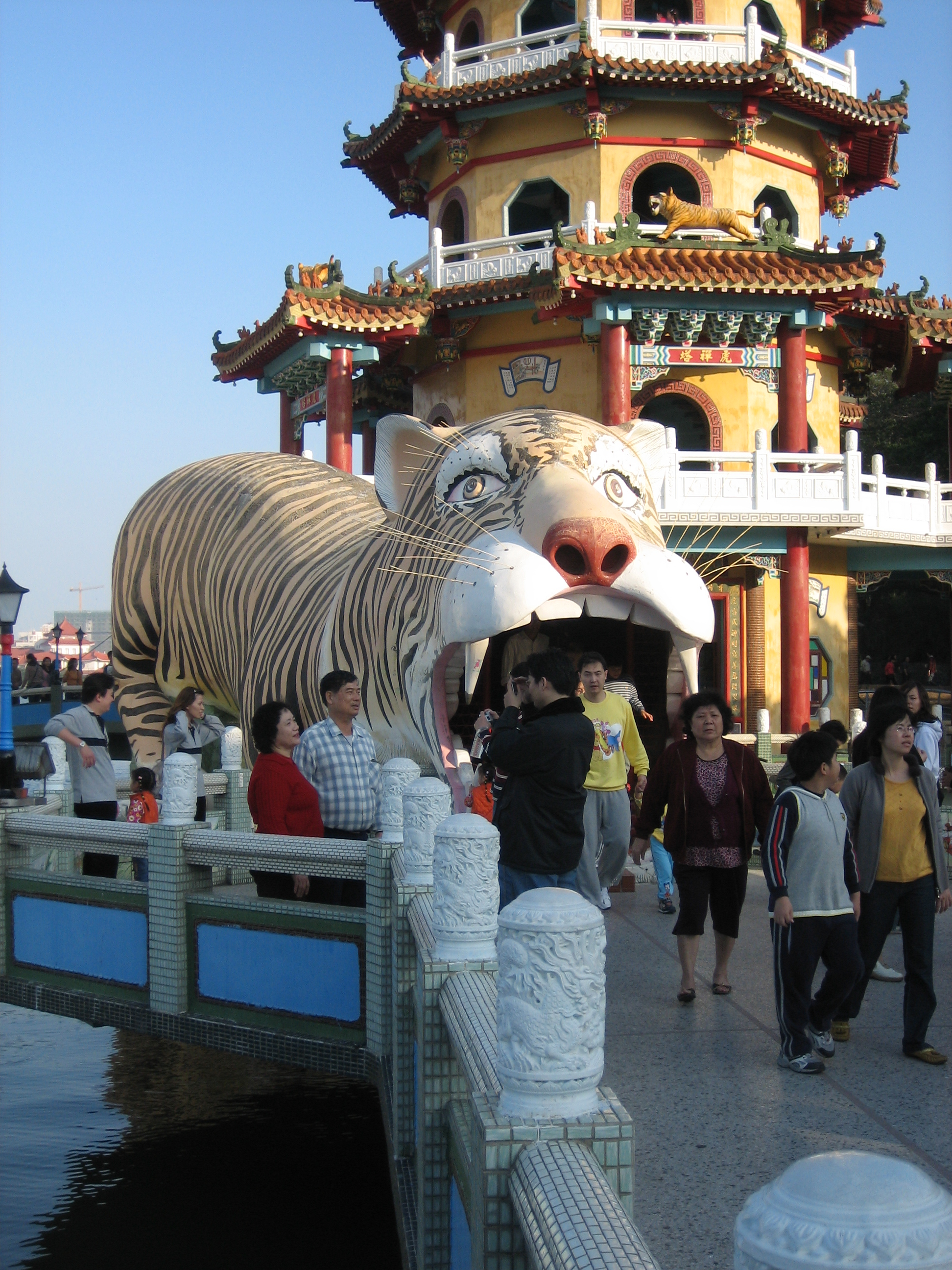 Tiger tower in Kaohsiung