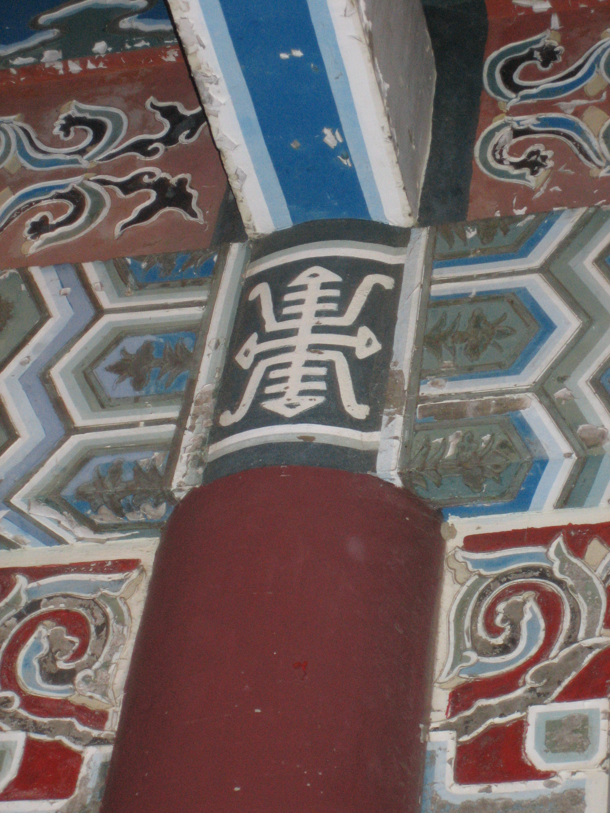 Old Tainan temple detail