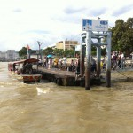 Pontoon on Chao Phraya