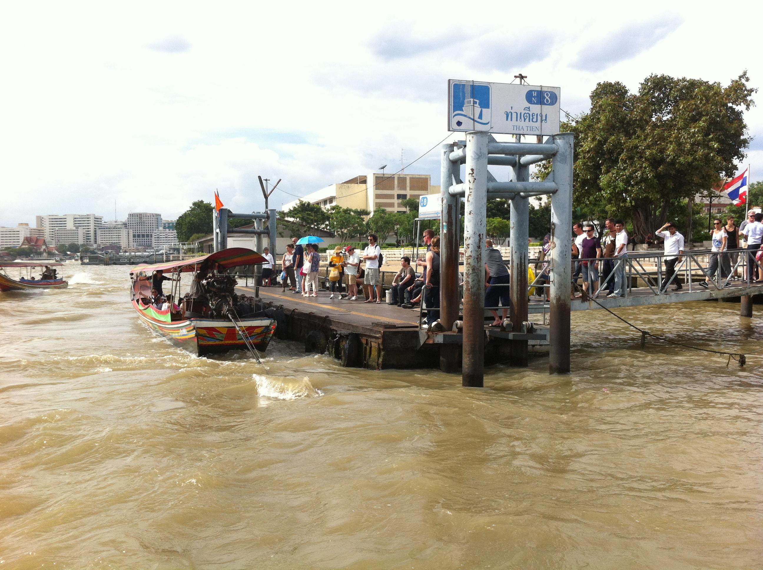Pontoon on Chao Phraya