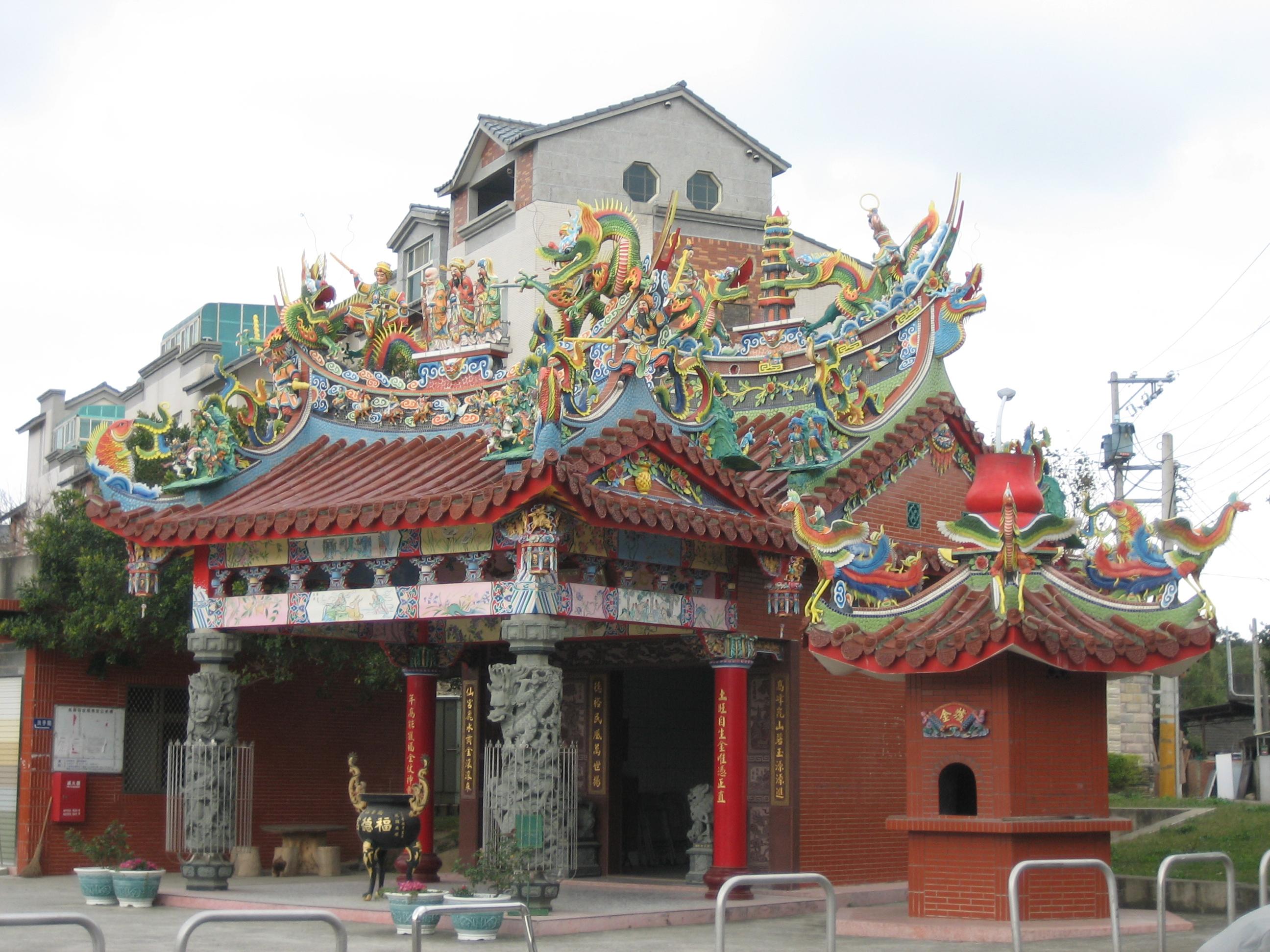 Small temple in Hsinchu