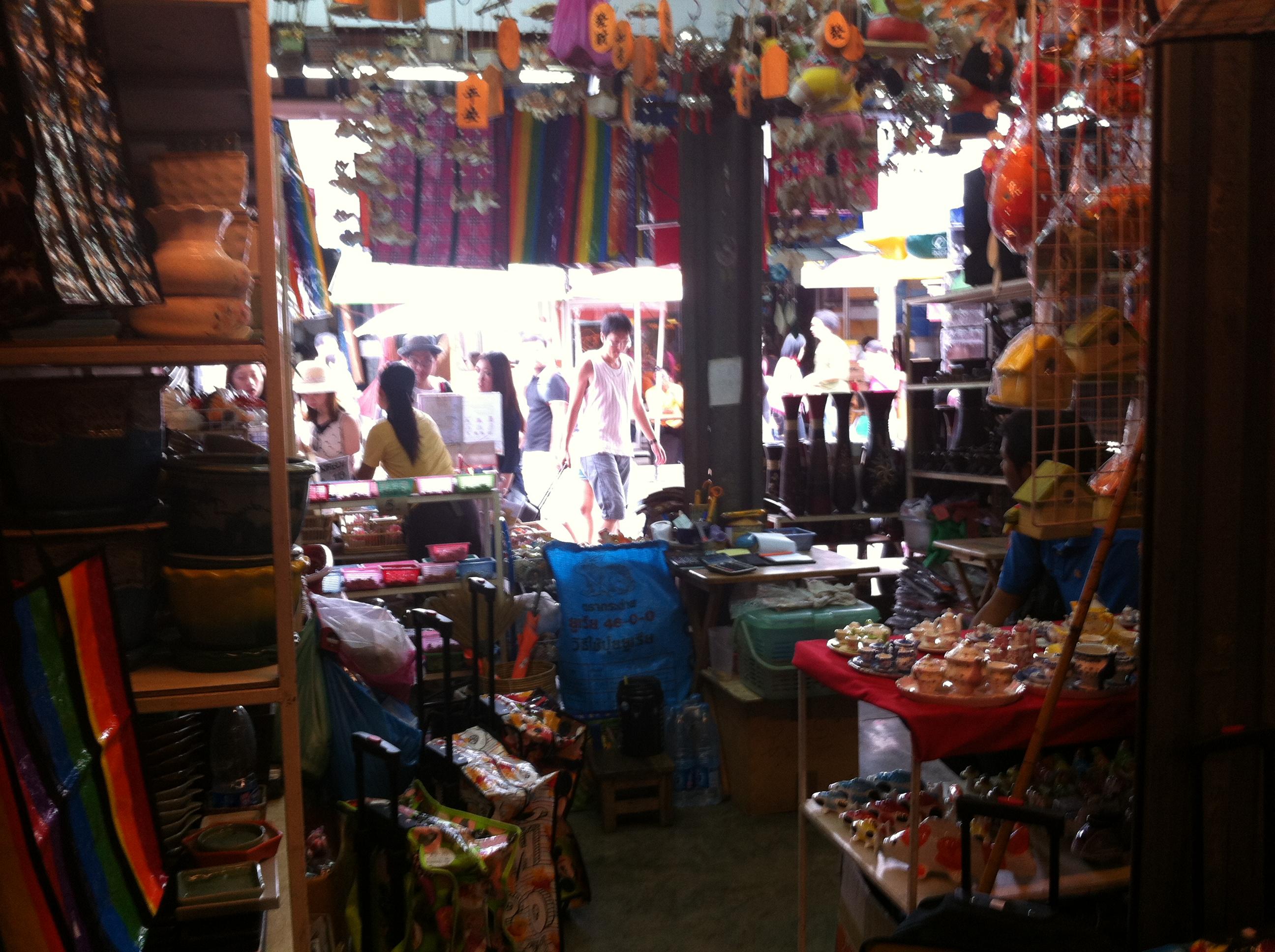 In Chatuchak market