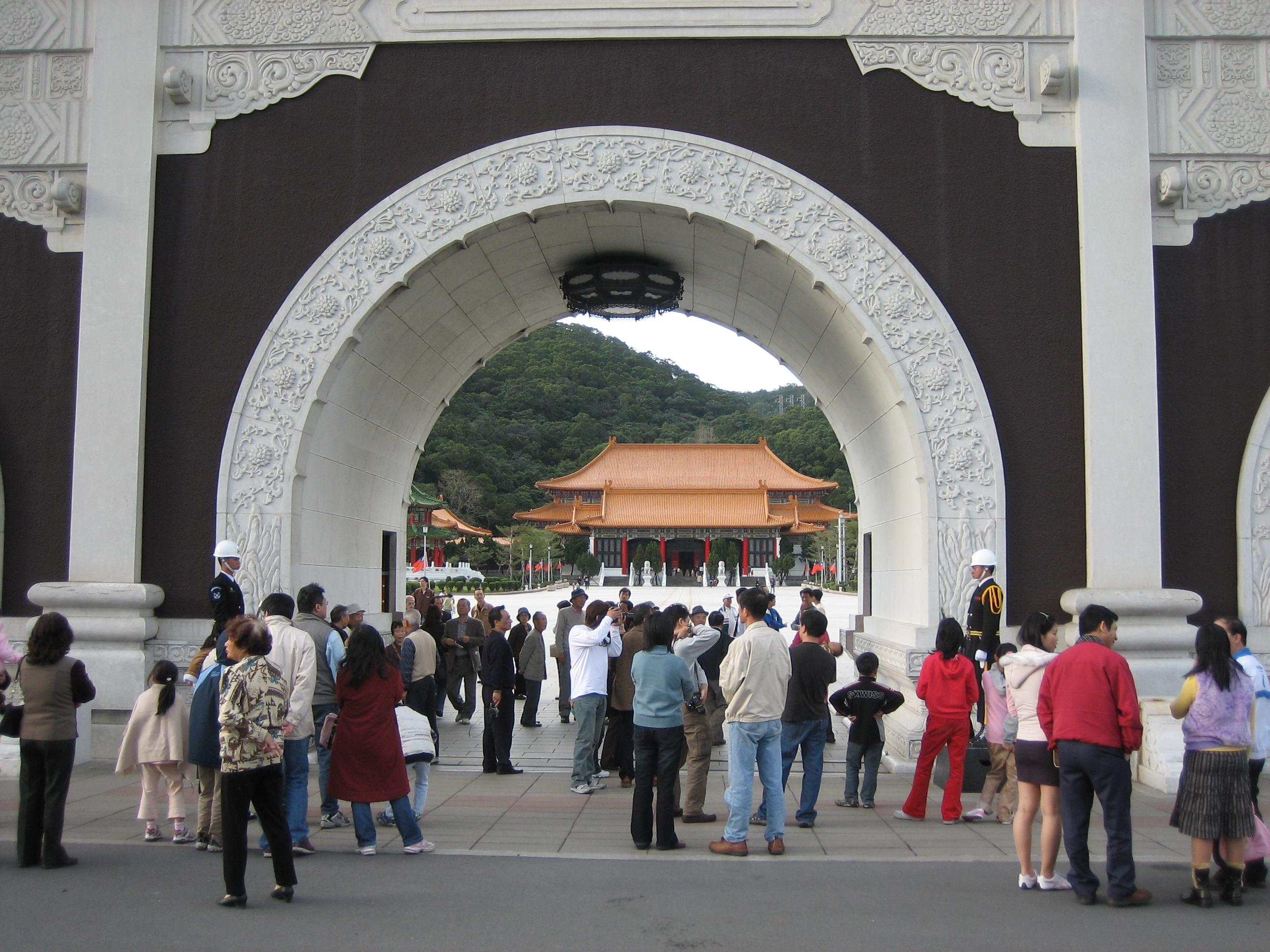 Martyr's shrine entrance