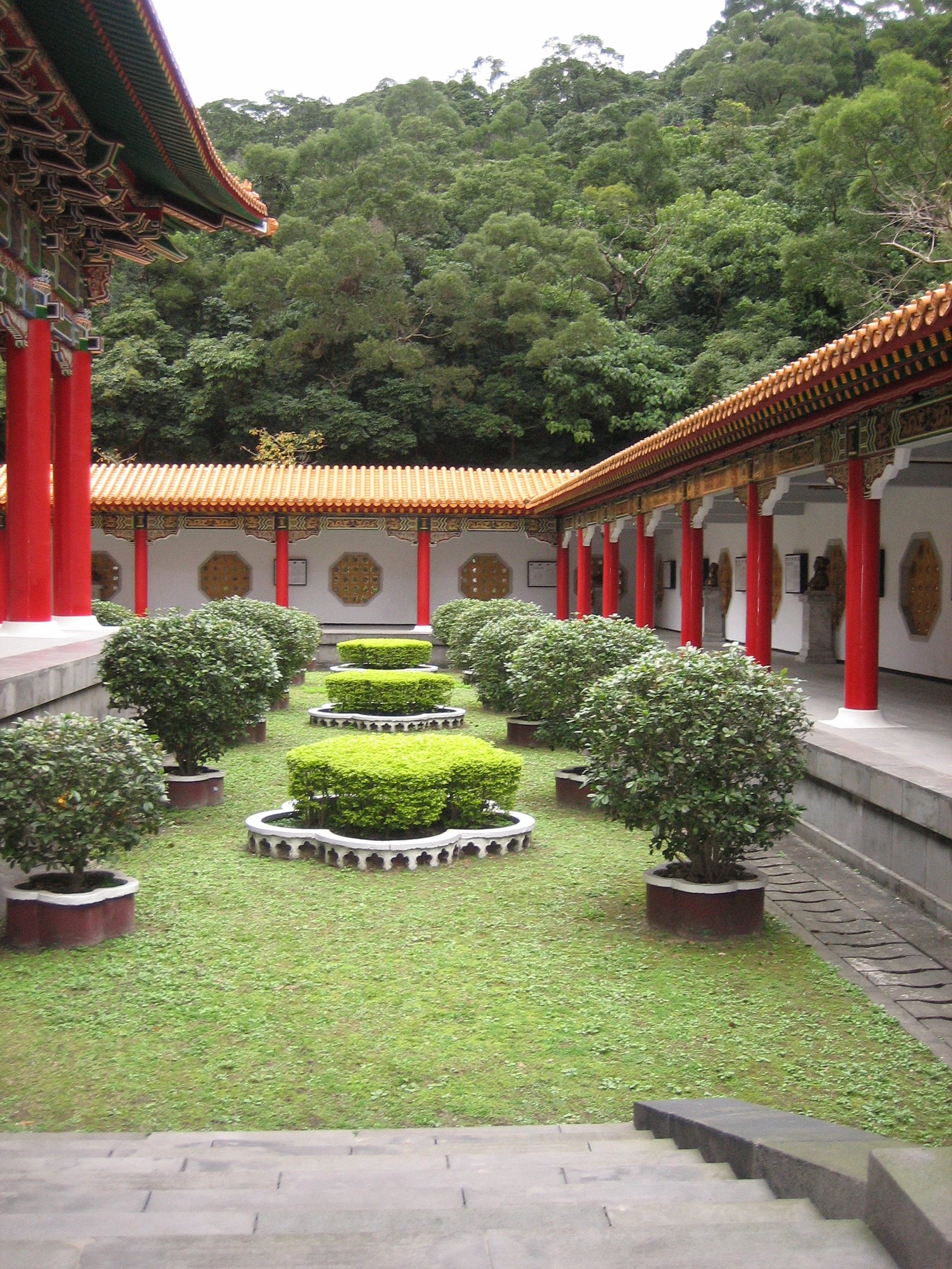Martyr's shrine garden