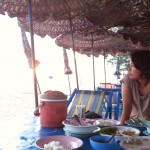 Dinner at Rayong beach