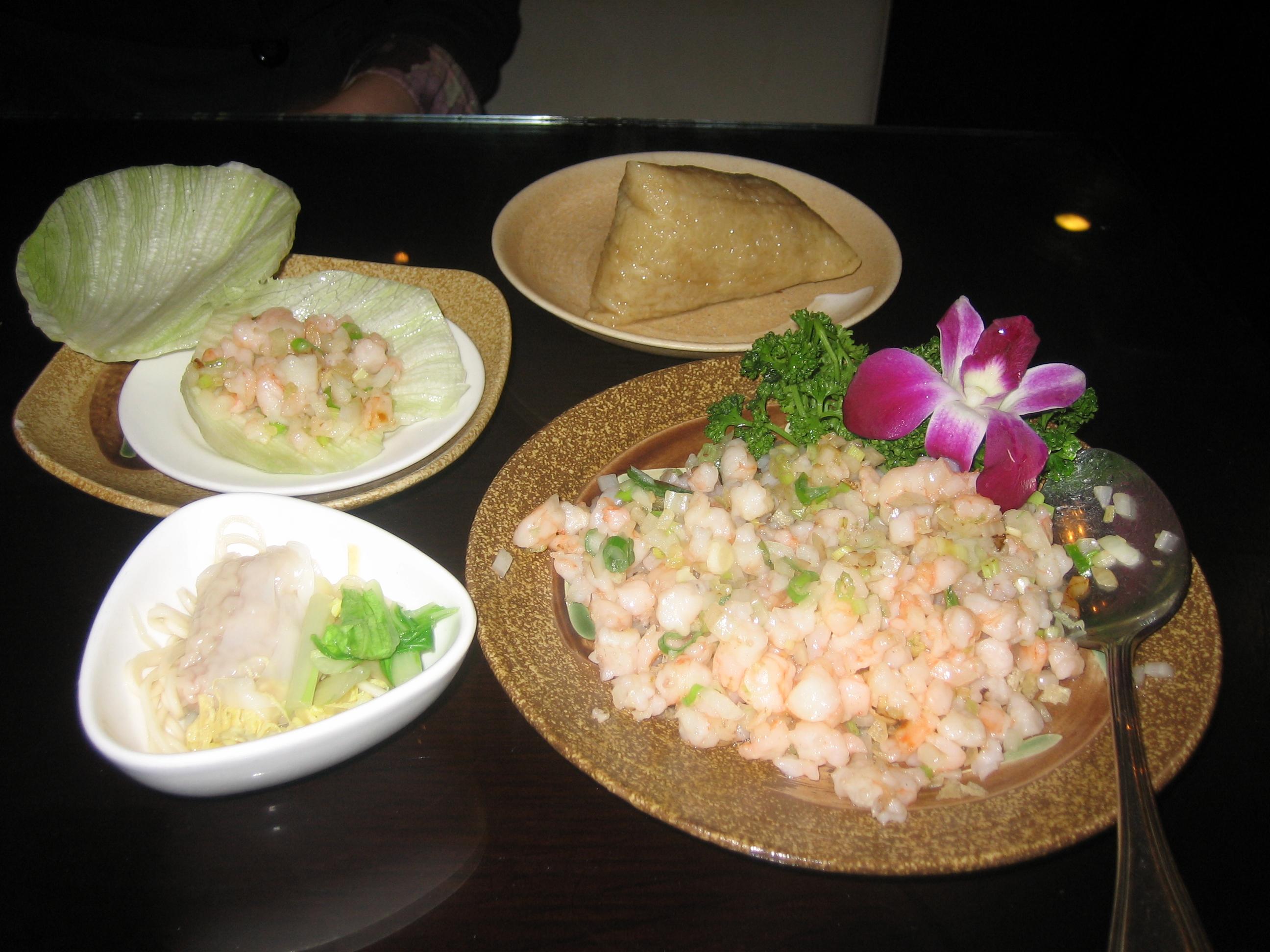 Good dumpling and food in Taipei