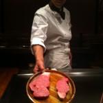 Kobe beef at Seryna Roppongi
