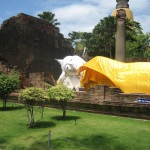 Reclining Buddha at Ayutthaya