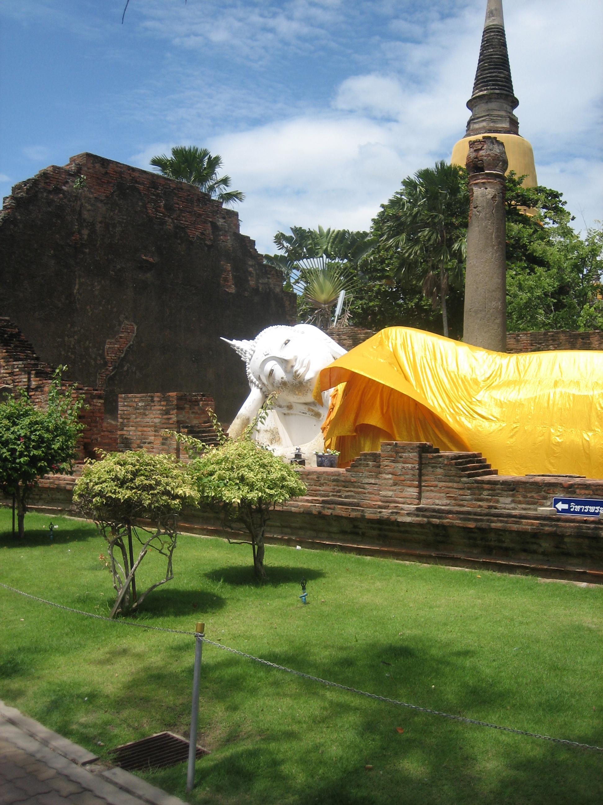 Reclining Buddha at Ayutthaya