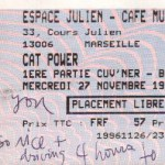 Cat Power at the Café Julien